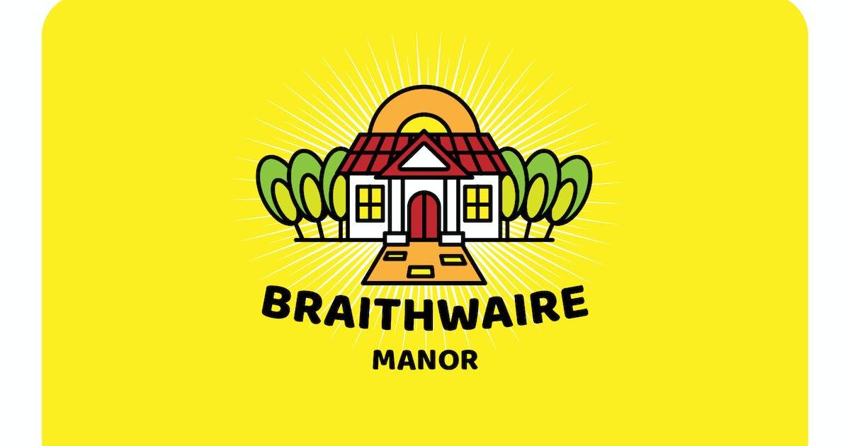 Download mansion - Mascot & Esport Logo by aqrstudio