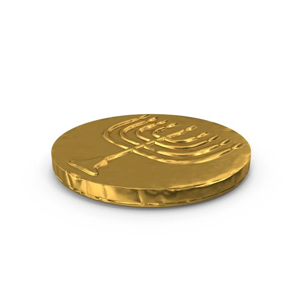 Thumbnail for Hanukkah Chocolate Gelt Coin