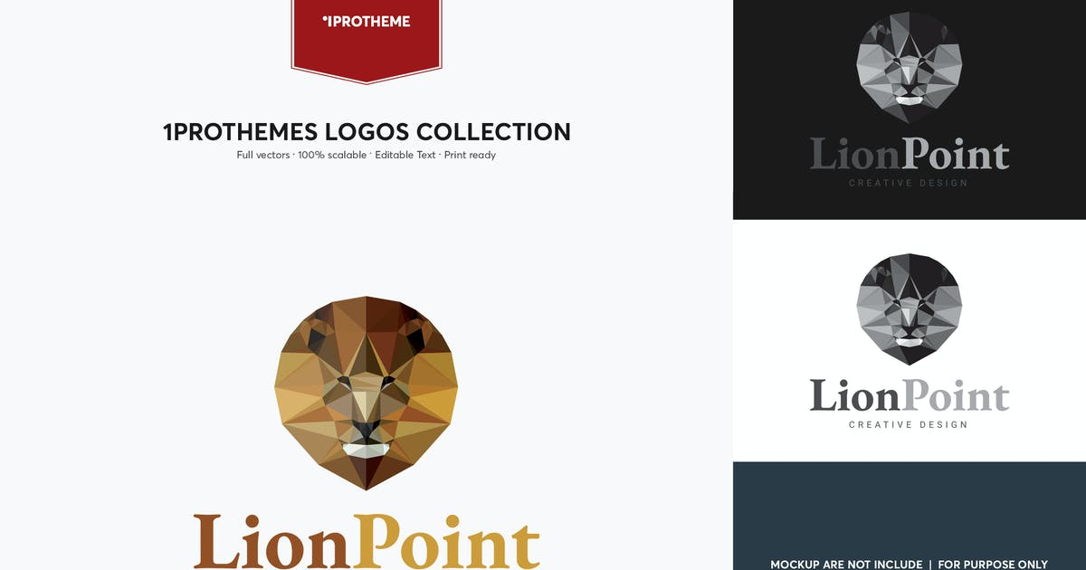 Download Lion Point Logo Template by 1protheme
