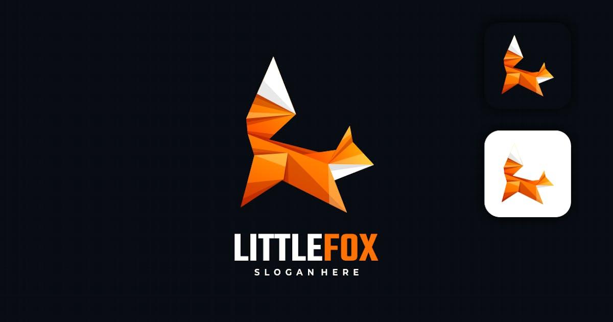 Download Little Fox Low Poly Logo by artnivora_std