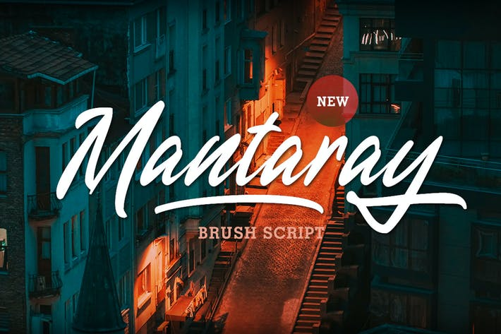 Thumbnail for Mantaray - Brush Script