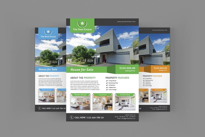 ebay templates for sale - real estate flyer by leaflove on envato elements