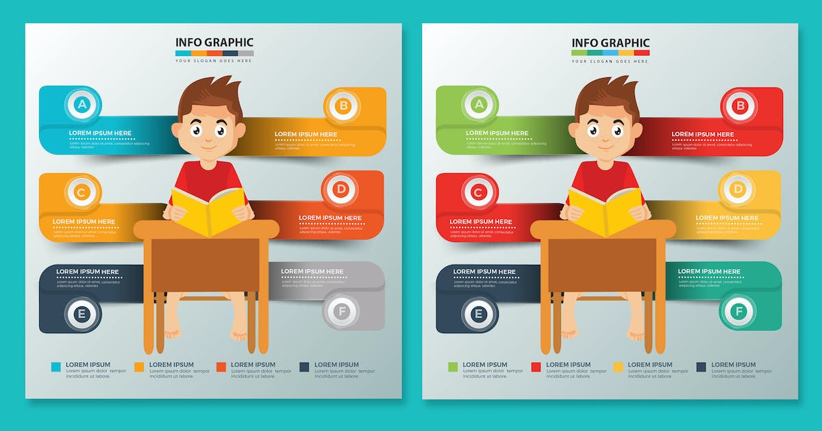 Download Education Infographics design by mamanamsai