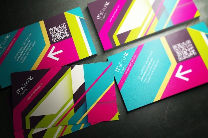 Thumbnail for Farbe Gürtel Visitenkarten-Design