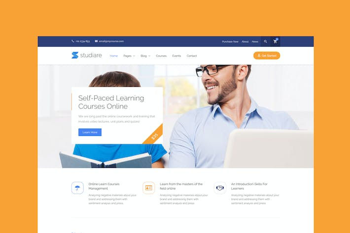 Studiare - Education HTML5 Template