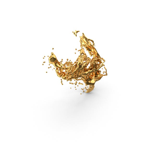 Liquid Gold Splash