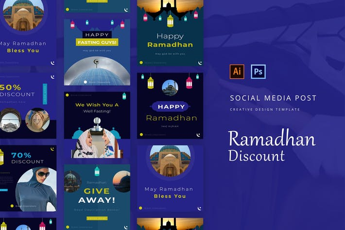Thumbnail for Ramadhan Discount Instagram Post