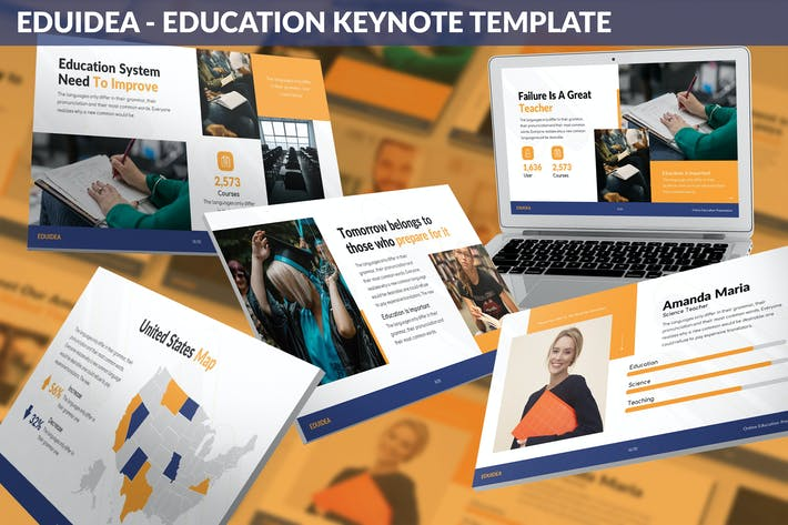 Thumbnail for Eduidea - Education Keynote Template