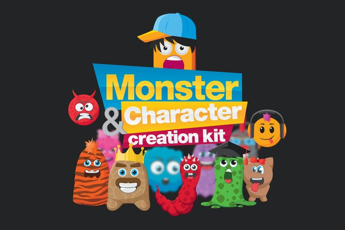 Thumbnail for Monster Character Creation Kit