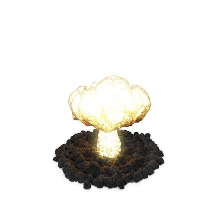 Explosión nuclear masiva