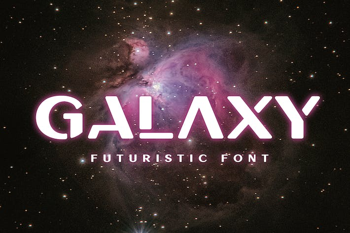 Thumbnail for Galaxy Font