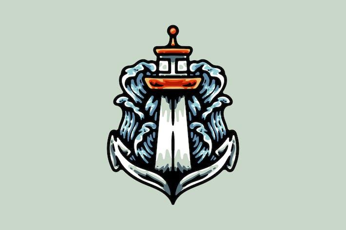 Anker Und Leuchtturm