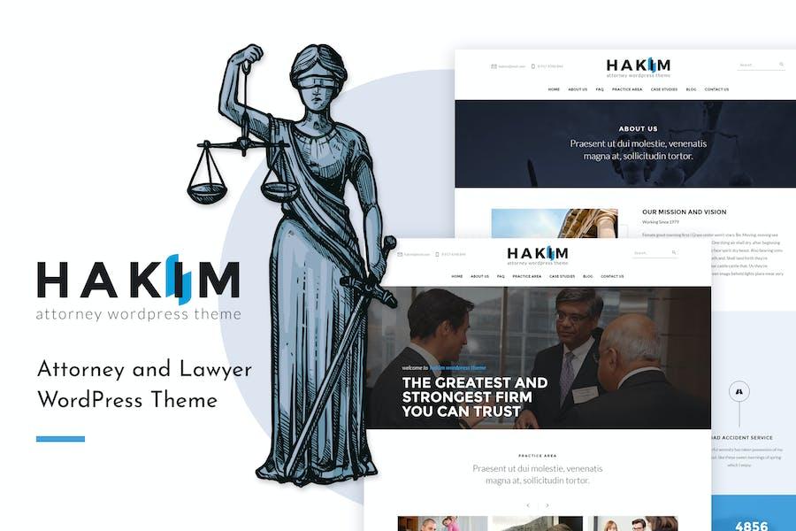 Hakim | Attorney and Lawyer WordPress Theme