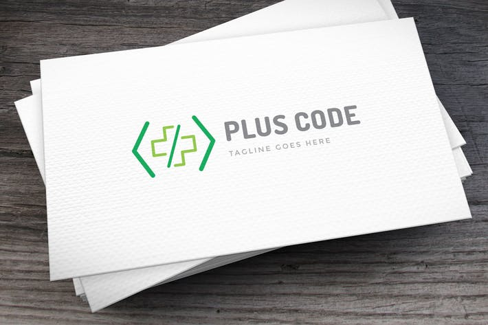 Thumbnail for Plus Code Logo Template