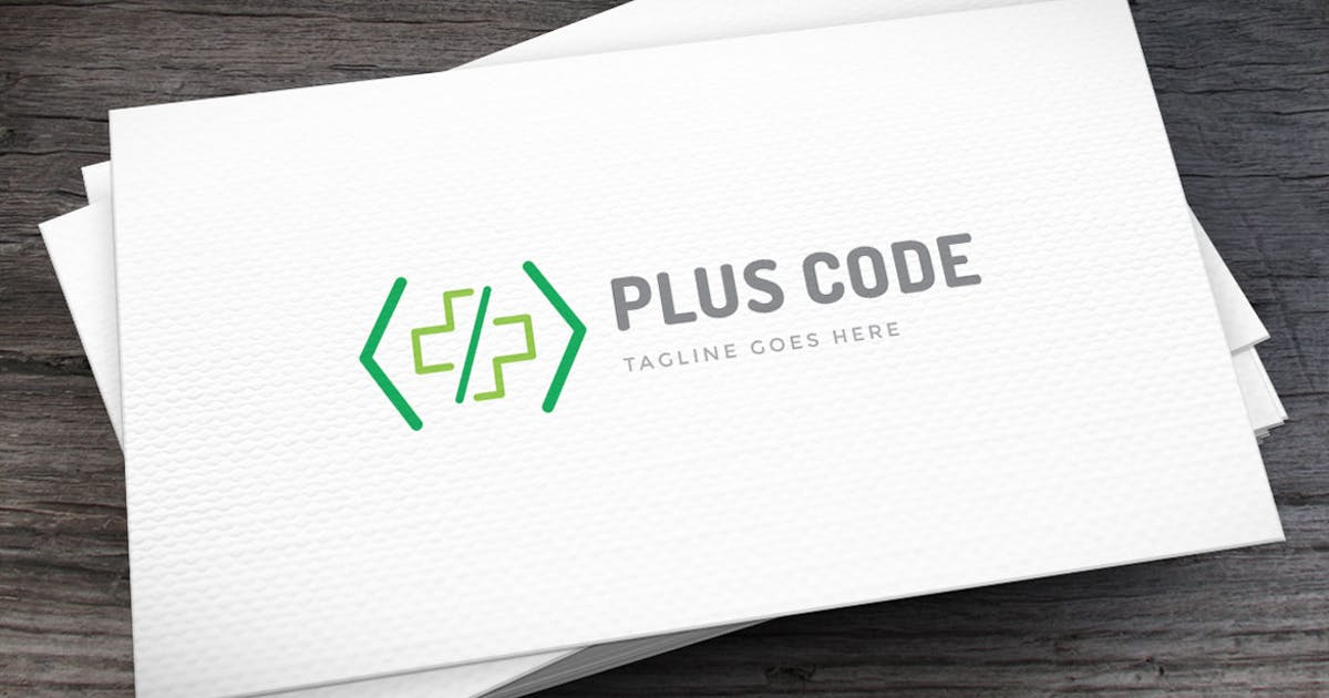 Download Plus Code Logo Template by empativo