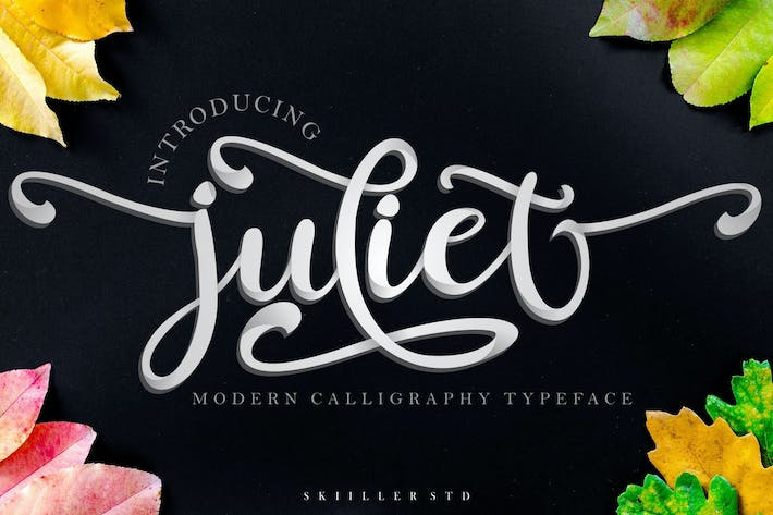 Thumbnail for juliet Modern Calligraphy