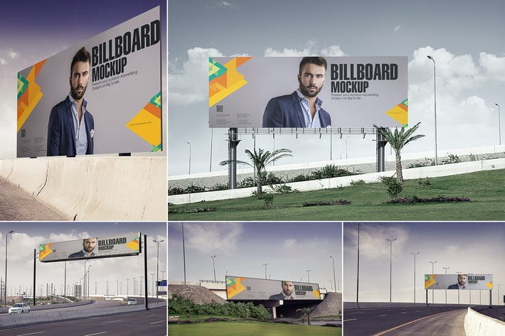 Thumbnail for Billboard Mockups