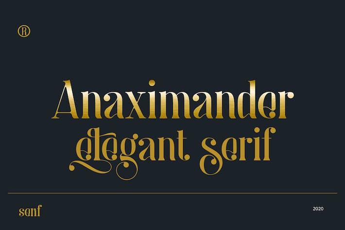 Thumbnail for Anaximander Con serifa Fuente