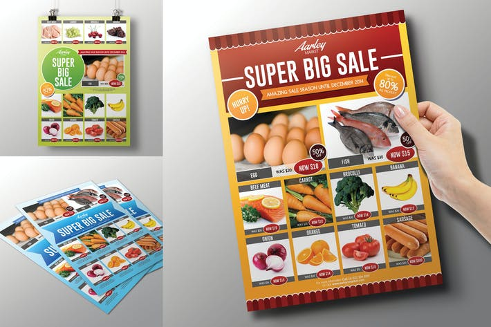 Cover Image For Supermarket / Product Promotion Flyer