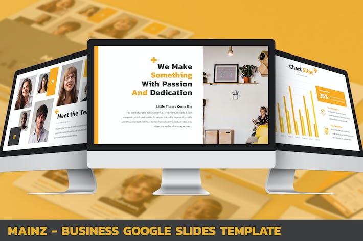 Thumbnail for Mainz - Business Google Slides Template