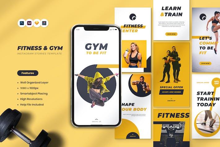 Thumbnail for Fitness & Gym Instagram Stories