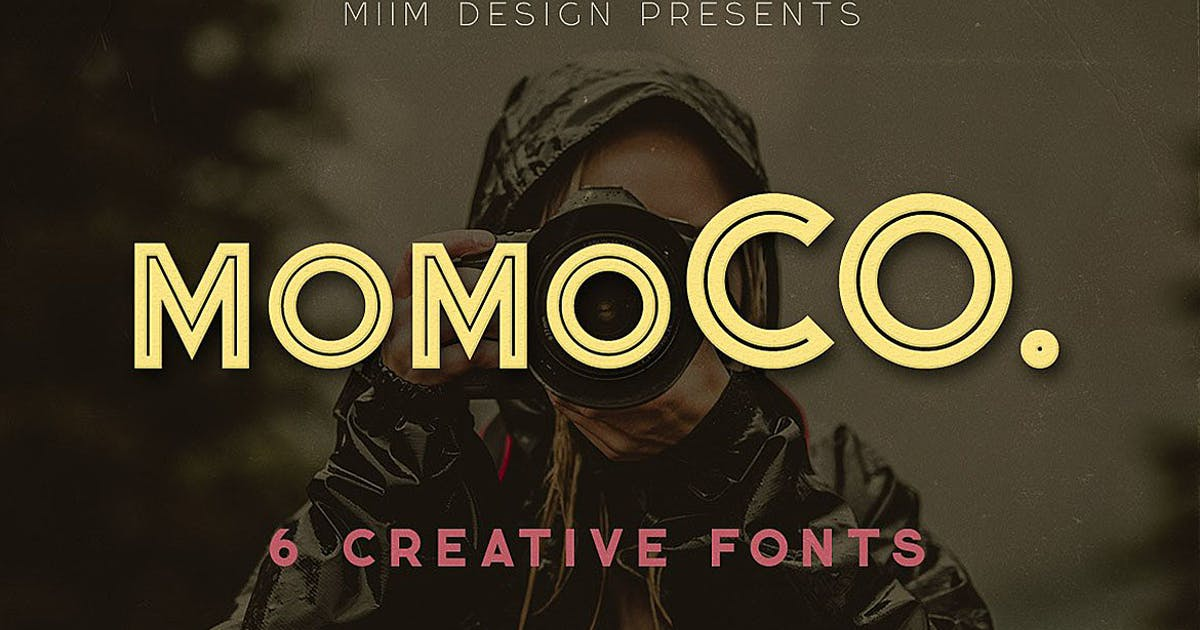Download Momoco - Display Font by cruzine