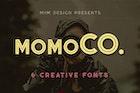 Momoco - Display Font