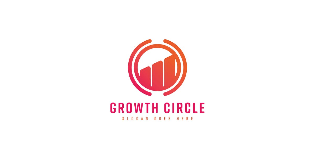 Download Growth Circle Logo Template by Pixasquare