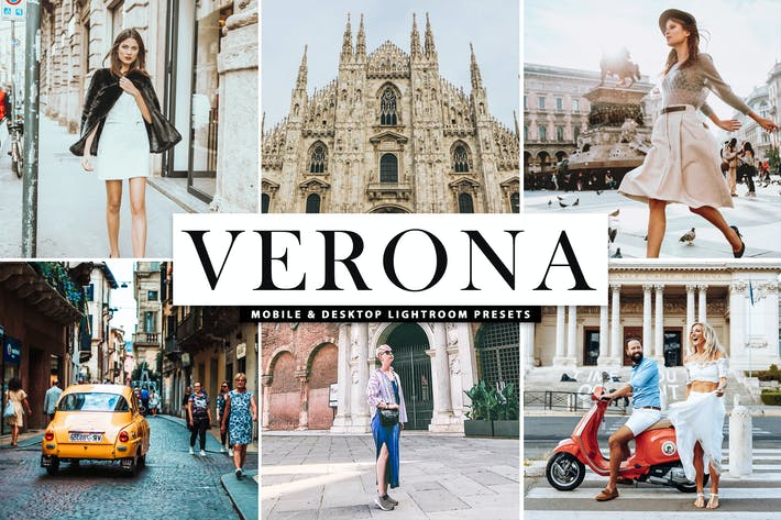 Thumbnail for Verona Mobile & Desktop Lightroom Presets