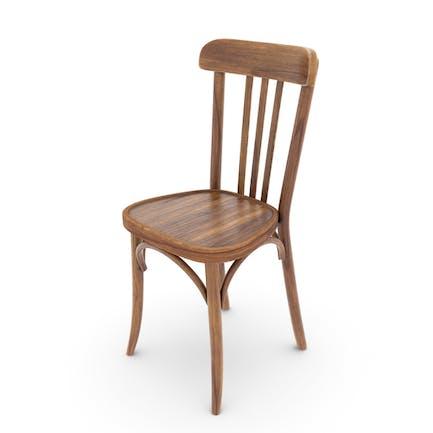 Alter Bistrot Stuhl