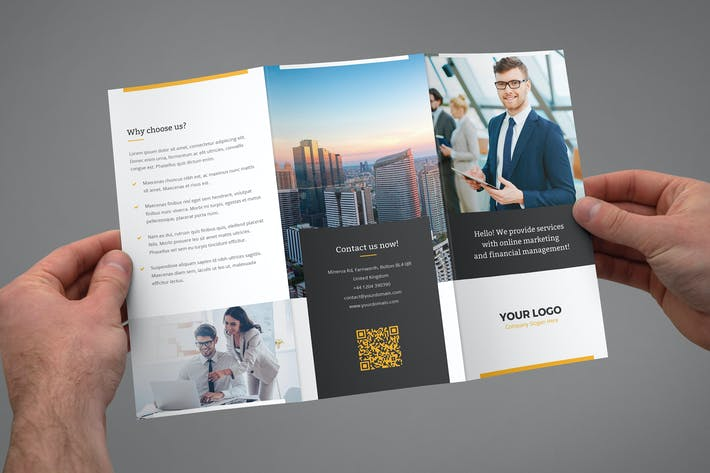 Thumbnail for Brochure – Marketing Tri-Fold