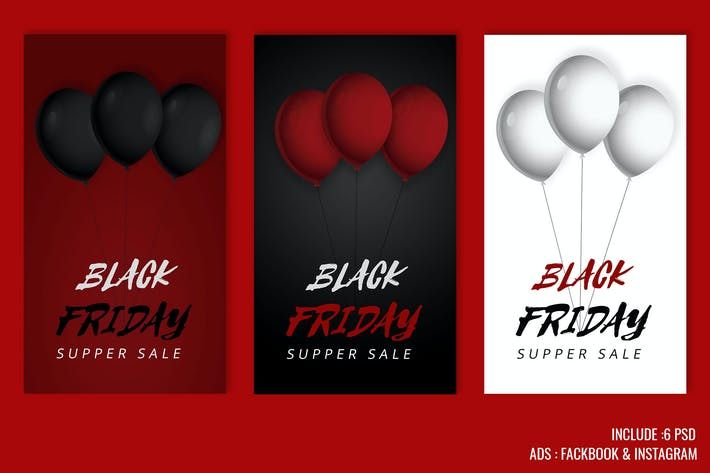 Thumbnail for Banner Black Friday Super Sale