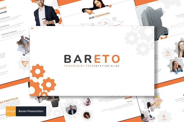 Thumbnail for Bareto - Business Google Slides Template