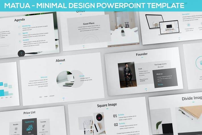 Thumbnail for Matua - Minimal Design Powerpoint Presentation