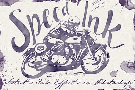 Speed Ink - Smart PSD