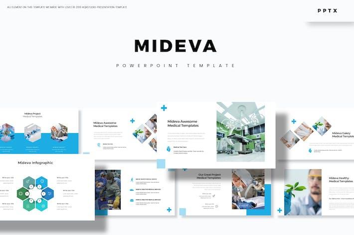 Cover Image For Mideva - Keynote Template