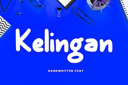 Kelingan Exciting Handwritten Font