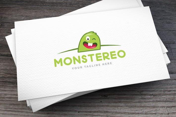 Thumbnail for Monstereo Logo Template