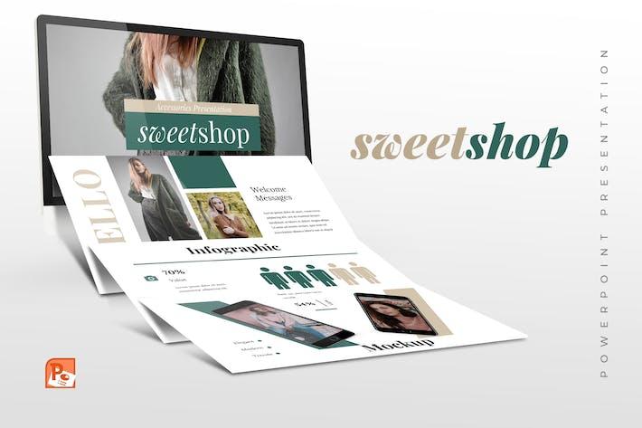 Sweetshop -  Fashion Powerpoint Presentation