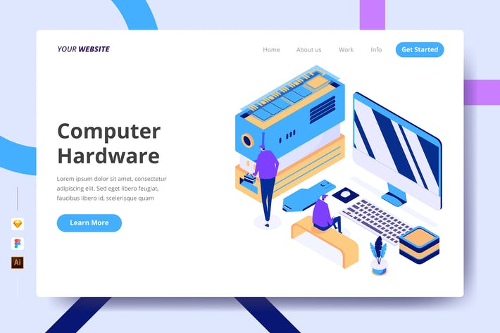 Thumbnail for Computer Hardware - Landing Page