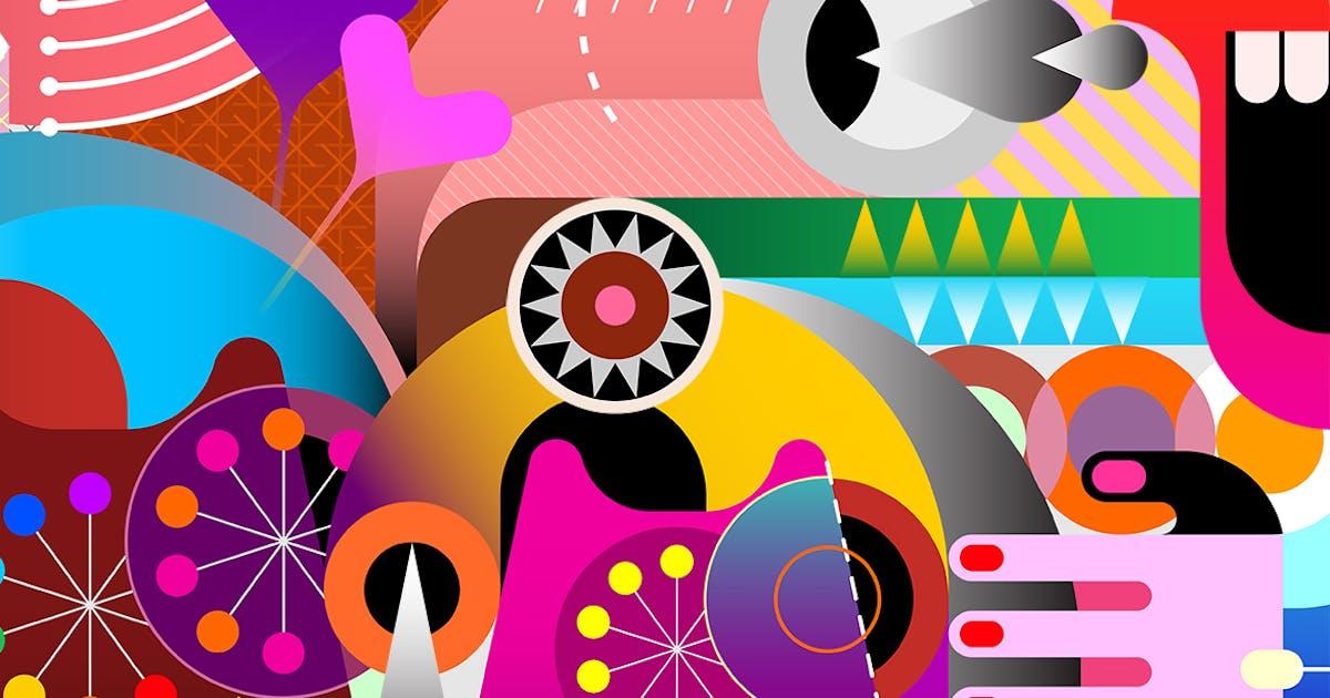 Download Abstract Art Vector Design by danjazzia