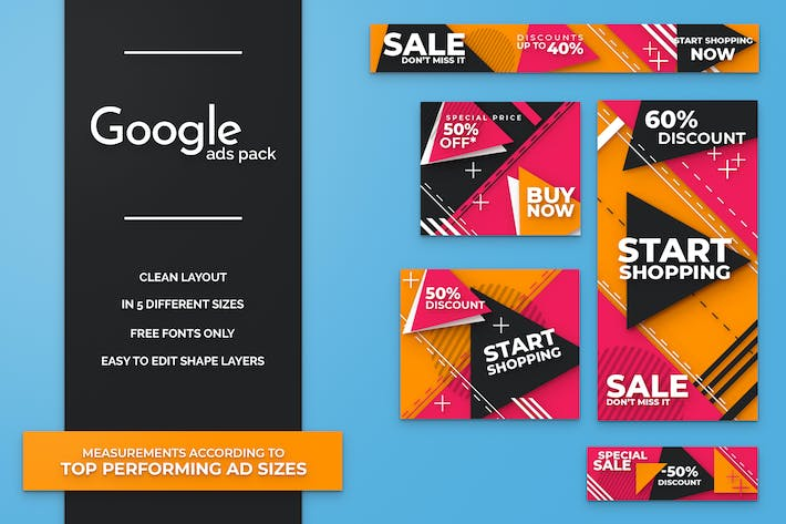 Thumbnail for Google Ads Banner Pack