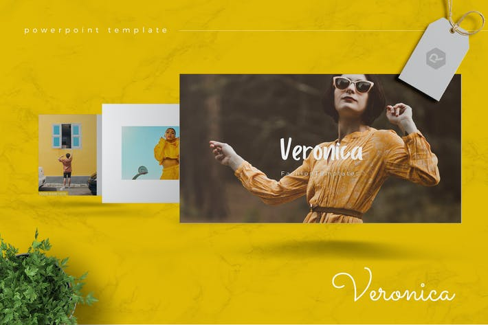 Cover Image For VERONICA - Fashion Powerpoint Template