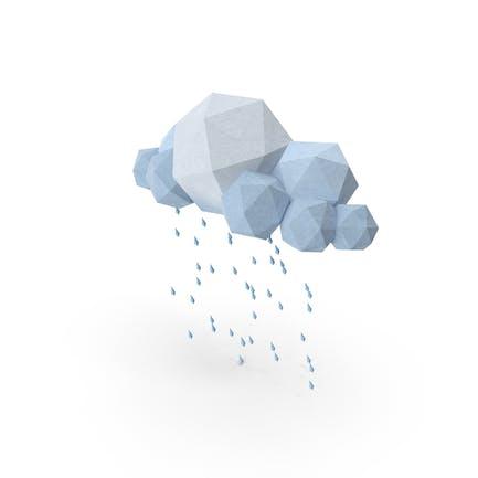 Low Poly Storm Cloud