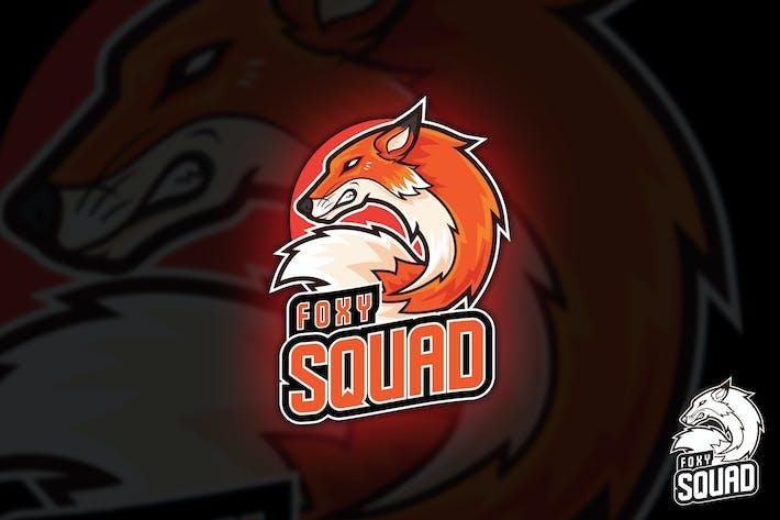 Thumbnail for Foxy Squad Logo Mascot