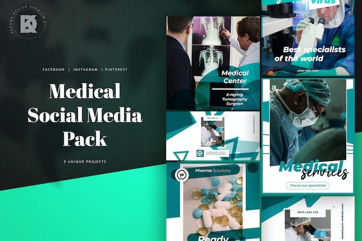 Thumbnail for Medical Social Media Pack