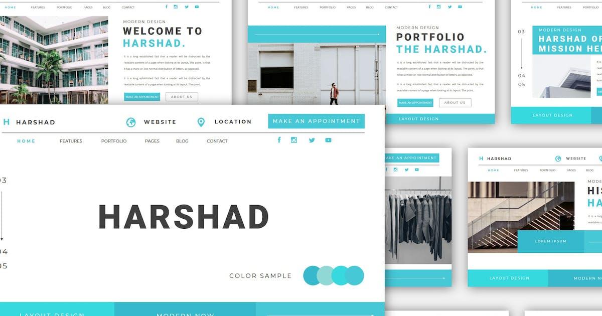 Download Harshad - Powerpoint Template by axelartstudio