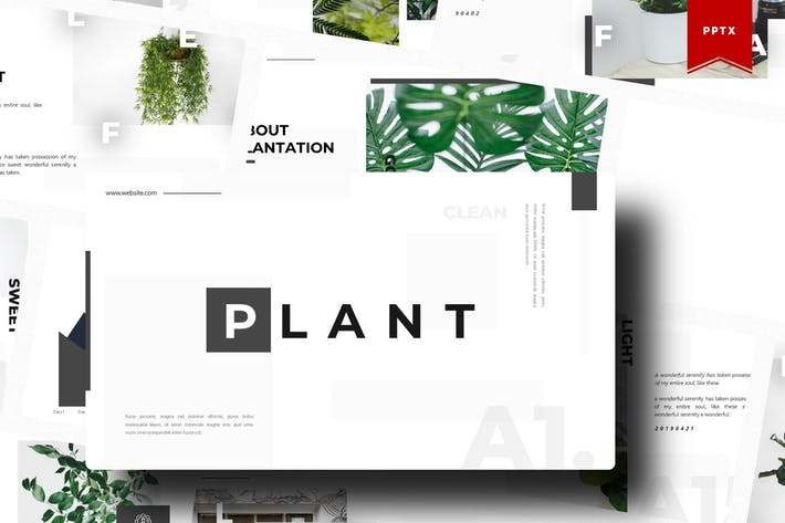 Thumbnail for Plant | Powerpoint Template