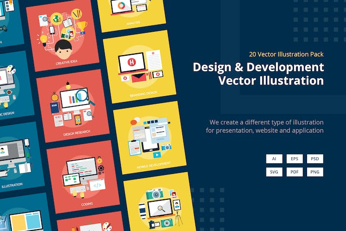 Thumbnail for Design and Development Vector Illustration Vol.2