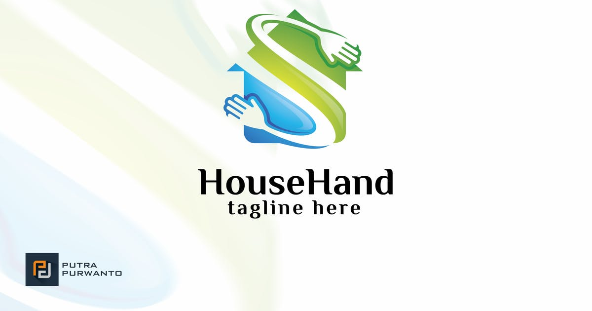 Download House Hand - Logo Template by putra_purwanto